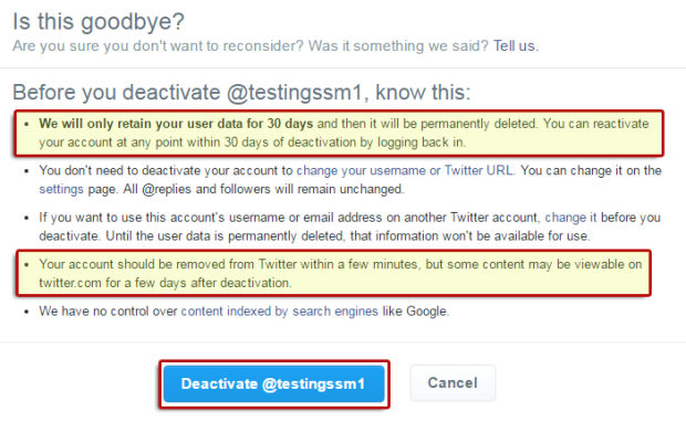 How to Delete a Twitter Account | The Official Solved Social