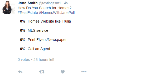 Getting Started with Twitter Polls for Real Estate | The