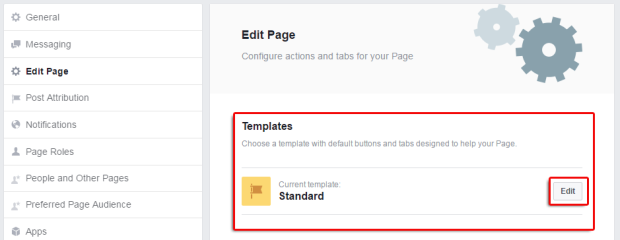the new facebook page templates and how to manage tabs the